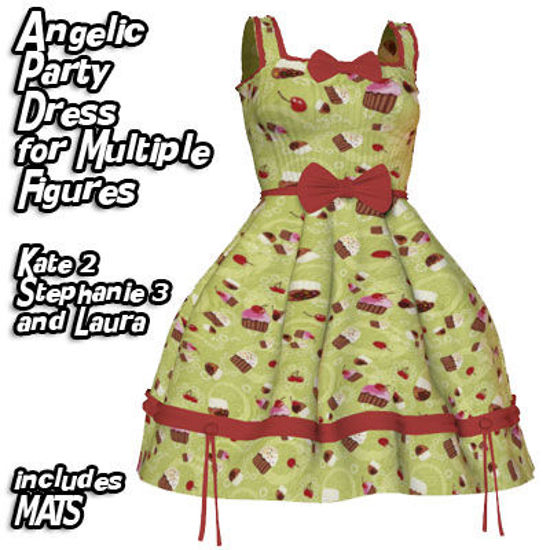 Picture of Angelic Cute Party Dress for Multiple Figures - Laura
