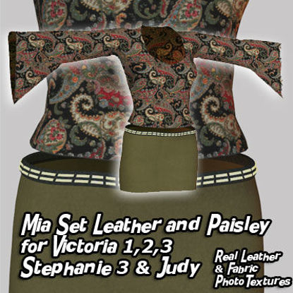 Picture of Mia Dynamic Leather and Paisley for Multiple Figures - V2