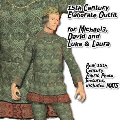 Picture of 15th Century Elaborate for Michael 3, David and Luke & Laura - 15thCElaborate