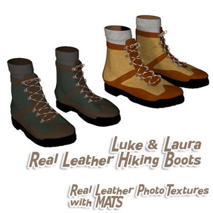 Picture of Real Leather Hiking Boots for Luke and Laura - Laura