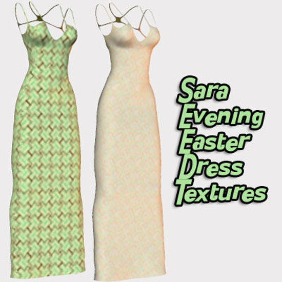 Picture of Sara Evening Dress Easter Style Dress Textures