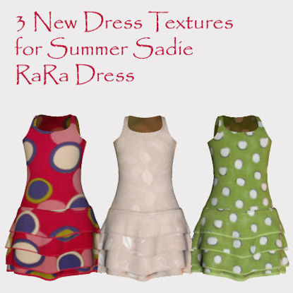 Picture of 3 New Dress Textures for Summer Sadie RaRa Dress