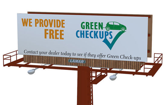 Picture of Outdoor Billboard Sign Model