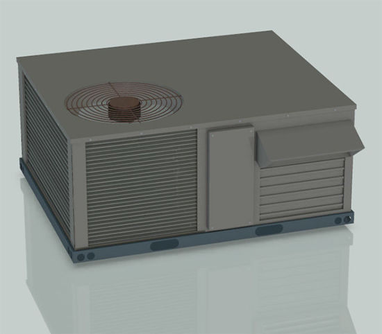 Picture of Rooftop Air Conditioning Unit Model
