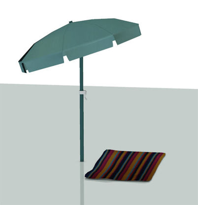 Picture of Beach Umbrella and Beach Towel Models