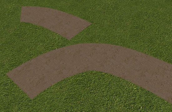 Picture of Modular Paths and Bare Spot Models with Transparent Edges - Poser and DAZ Studio Format