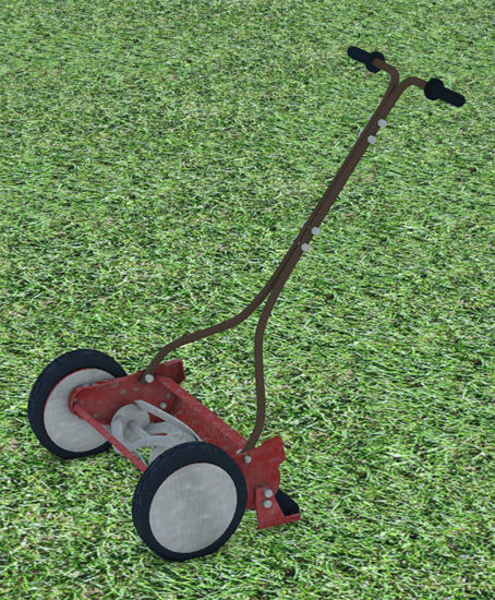 Picture of 1940's Reel Lawn Mower