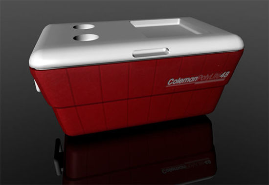 Picture of Ice Chest Cooler Model