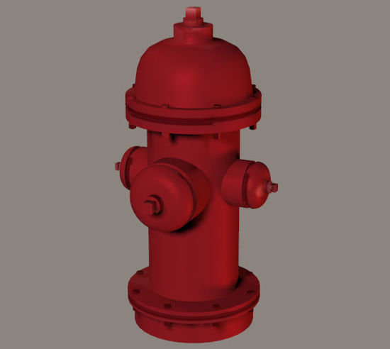 Picture of Fire Hydrant Model