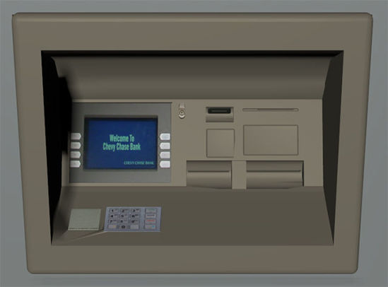 Picture of ATM Machine Model