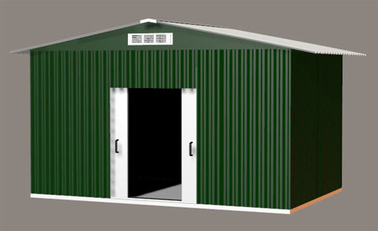 Picture of Outdoor Metal Storage Building Prop