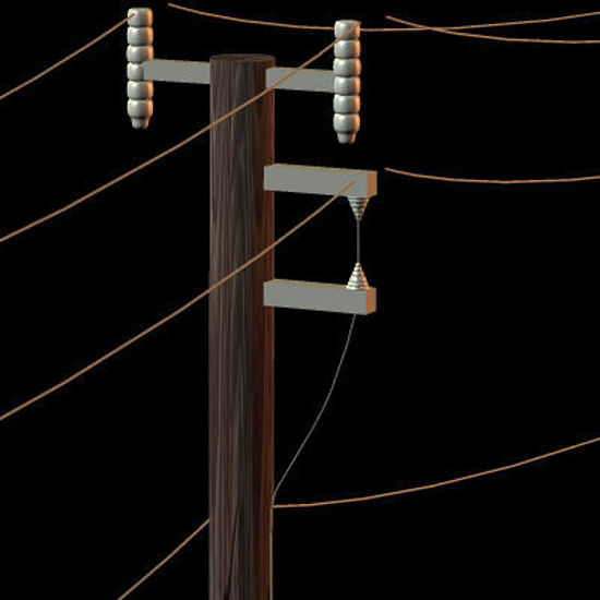 Picture of Telephone Pole Prop