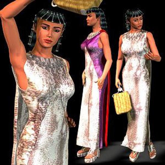 Picture of Nefertiti dress