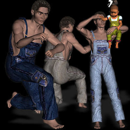 Picture of Dungarees for the P4 guy