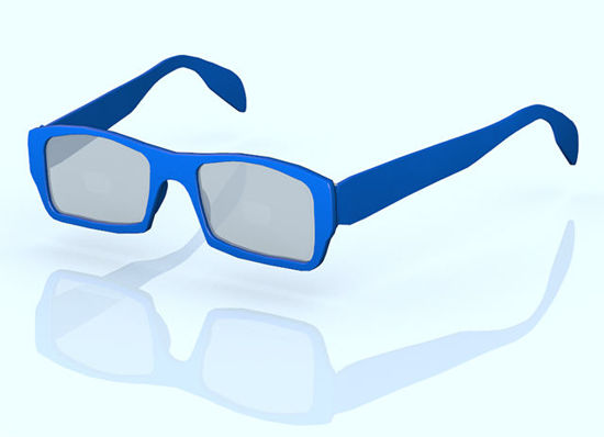 Picture of Fashion Glasses Model Set 1 - Poser and DAZ Studio Format