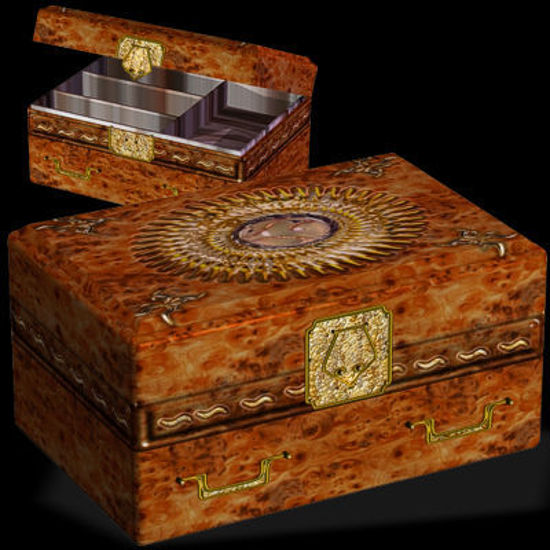 Picture of Posable Jewelry Box