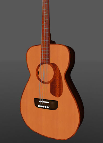 Picture of Acoustic Guitar Musical Instrument Prop