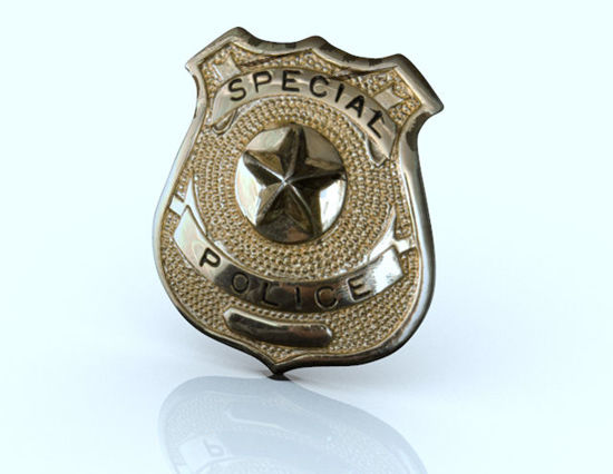 Picture of Special Police Badge Prop