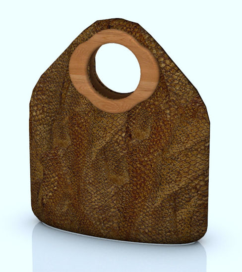 Picture of Snake Skin Purse Prop