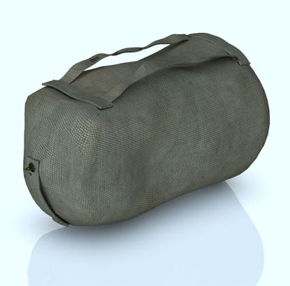Picture of Military Duffel Bag with Shoulder Bend Morph