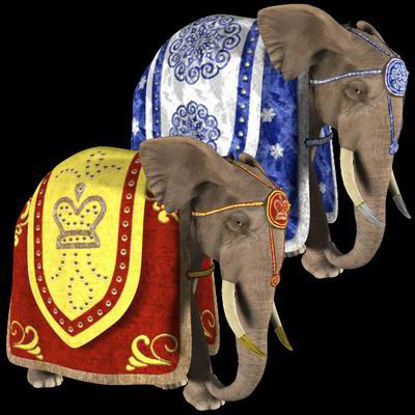 Picture of Circus Elephant set