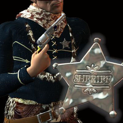 Picture of Sheriff's Star