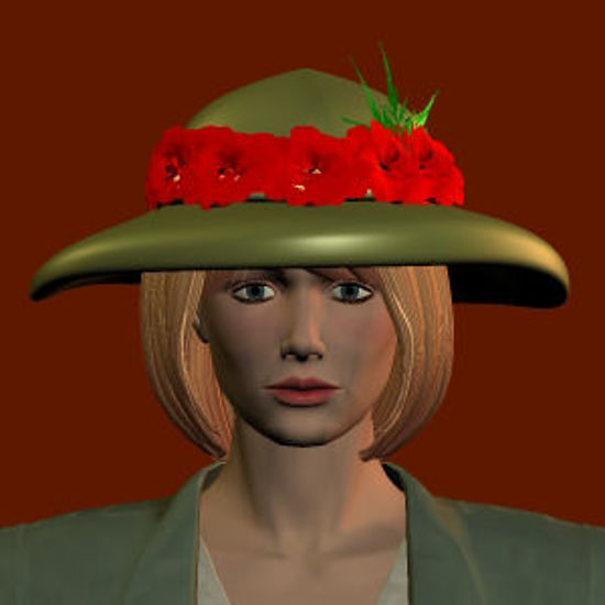Picture of Flower hat