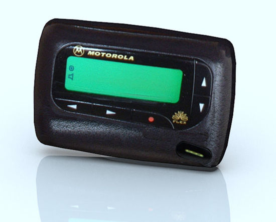 Picture of Wireless Pager Model