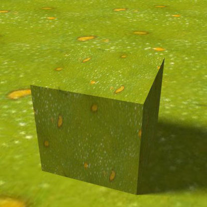 Picture of Seamless Green Frog Skin - 336x143
