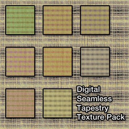 Picture of Seamless Digital Tapestry Fabric Pack 1
