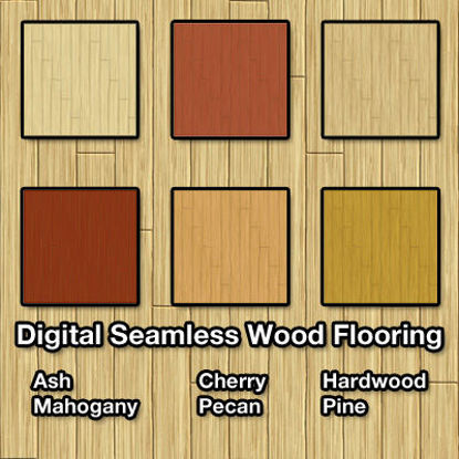 Picture of Digital Seamless Wood Flooring Texture Pack
