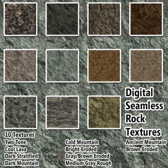 Picture of Digital Seamless Rock Texture Pack