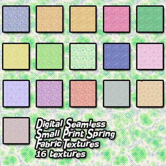 Picture of Digital Seamless Small Print Spring Fabric Textures