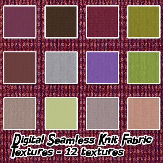 Picture of Digital Seamless Knit Fabric Pack