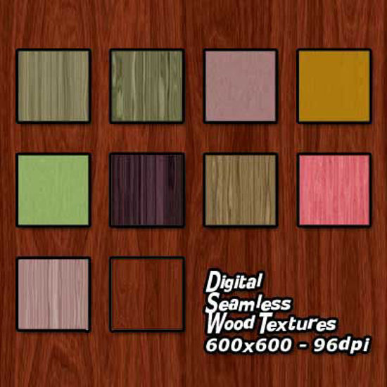 Picture of Digital Seamless Wood Texture Pack
