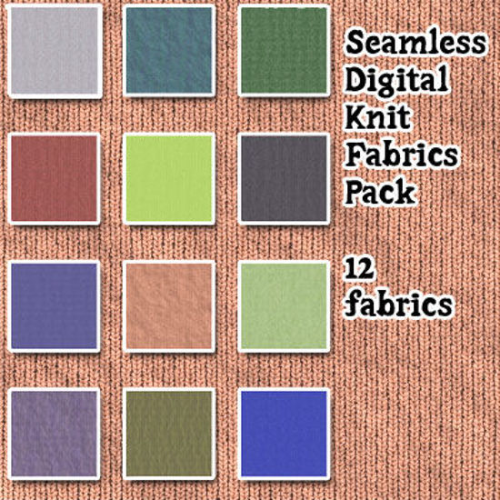 Picture of Seamless Digital Knit Fabric Pack