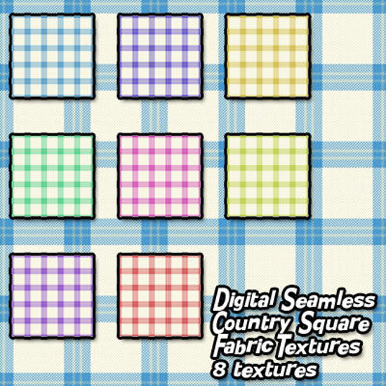 Picture of Digital Seamless Country Square Fabric Textures