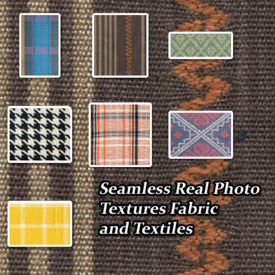 Picture of Seamless Fabric and Textile Photo Textures