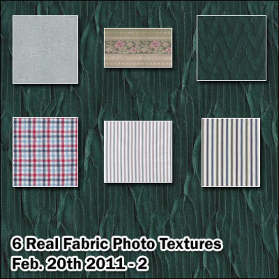 Picture of Six Seamless Real Fabric Photo Textures