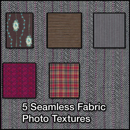 Picture of 5 Seamless Fabric Photo Textures - 12/26/2010