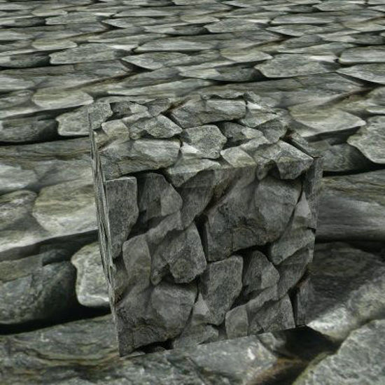 Picture of Seamless Rough Rock Wall Photo Texture - 1282x639