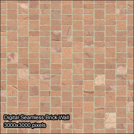 Picture of Seamless Digital & Photo Wall Texture Set - small-size-brick-wall