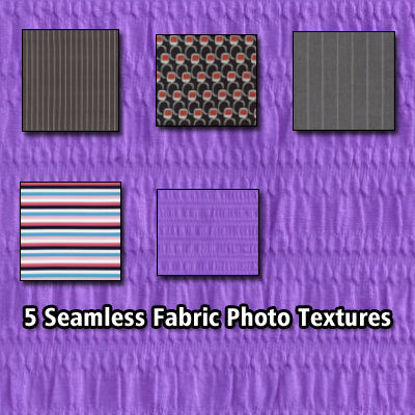 Picture of 5 Seamless Fabric Photo Textures