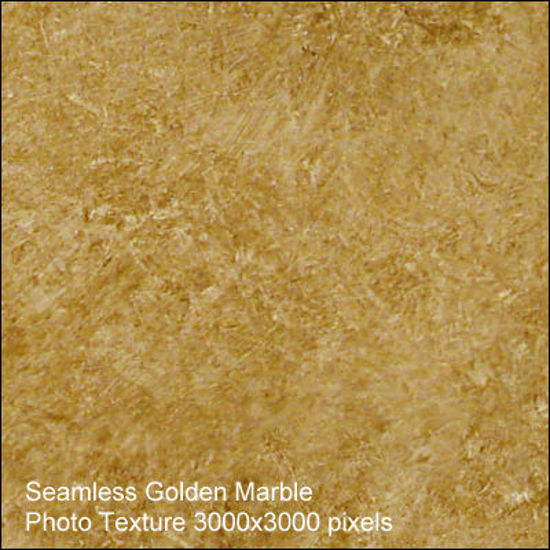 Picture of Seamless Marble Photo Textures 3000x3000 - Golden-Marble