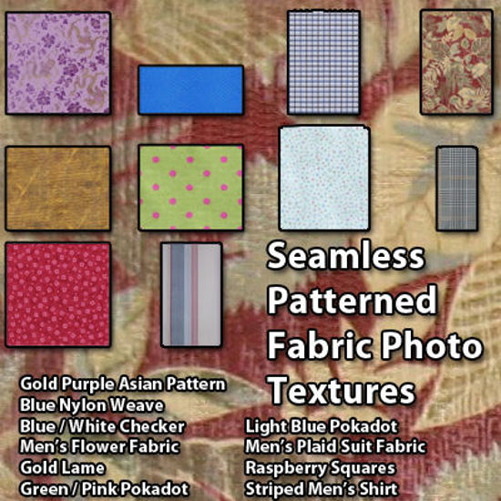 Picture of Seamless Patterned Fabric Photo Textures