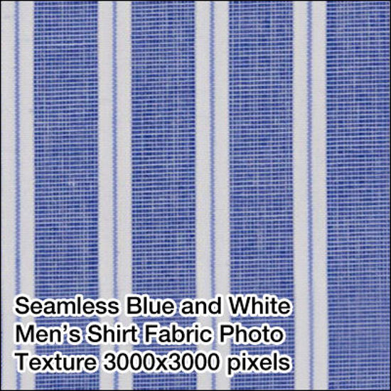 Picture of Seamless Men's Fabrics Photo Textures 3000x3000 pixels - BLWH-Mens-Shirt-Fabric