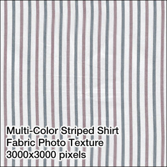 Picture of Seamless Men's Fabrics Photo Textures 3000x3000 pixels - MC-Pinstripe-Shirt-Fabric