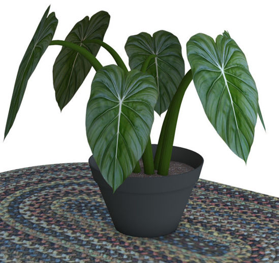 Picture of Artificial Potted Plant Model