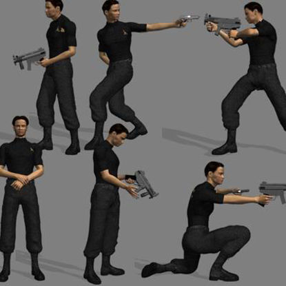 Picture of Gun Poses