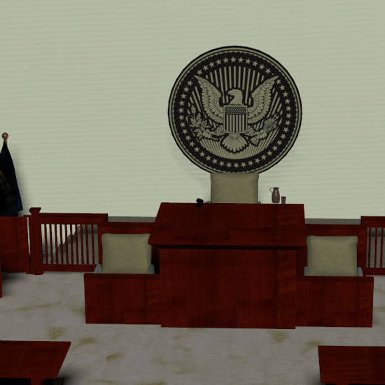 Picture of Complete Court Room Scene